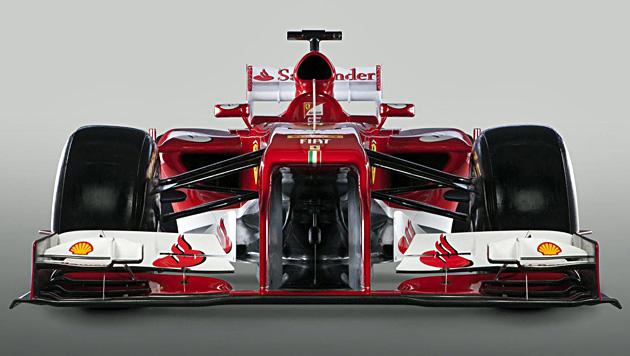 """Mit dieser """"Roten Göttin"""" will Ferrari wieder Titel holen (Bild: EPA)"""