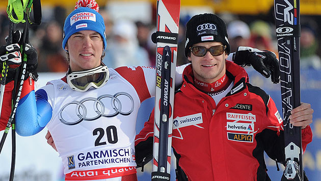 Schweizer Radio meldet Janka und Co. in Skischule an (Bild: APA/Barbara Gindl)