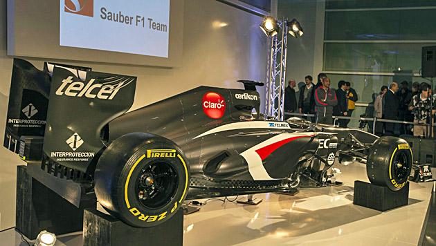 Sauber enthüllt C32 - Chefin Kaltenborn fordert Steigerung (Bild: EPA)