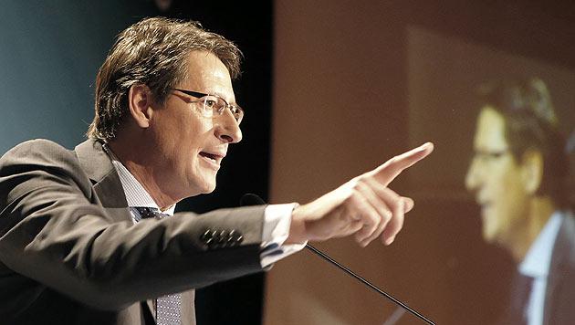 Kärnten: Bucher will Landeshauptmann werden (Bild: APA/GERT EGGENBERGER)
