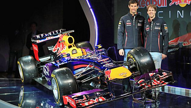 Red Bull und Vettel sind wohl auch 2013 die WM-Favoriten (Bild: Red Bull Racing/Getty Images Eur/Richard Heathcote)