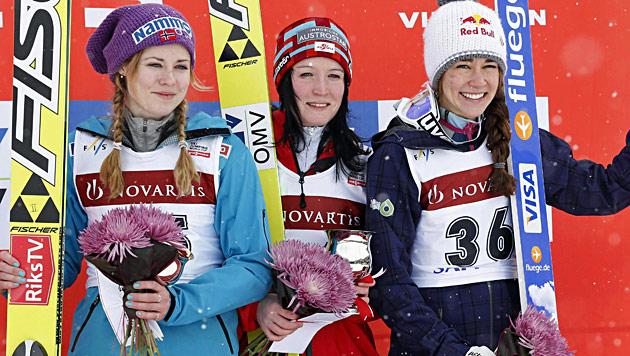 Seifriedsberger holt in Sapporo ihren ersten Weltcupsieg (Bild: AP)