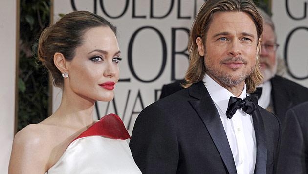 Angelina Jolies scharfe Liebesregeln mit Brad Pitt (Bild: EPA)