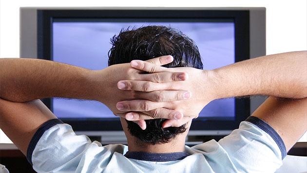 TV-Konsum in Österreich: Drei Stunden pro Tag (Bild: thinkstockphotos.de)