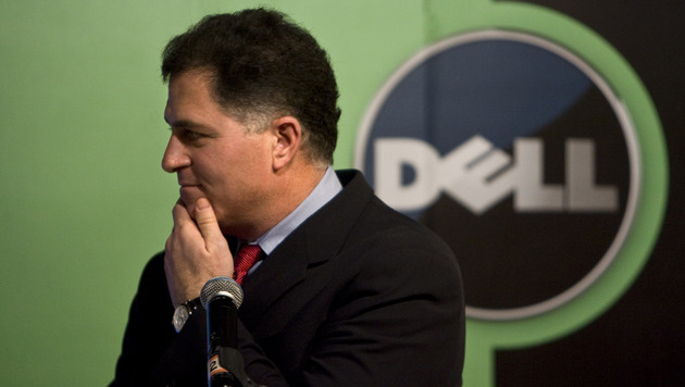 Dell kämpft mit Rückgängen im Computergeschäft (Bild: AP)