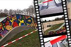 Rolltreppen-Kunst von Kindern bemalt - Streit geht weiter (Bild: krone.tv)