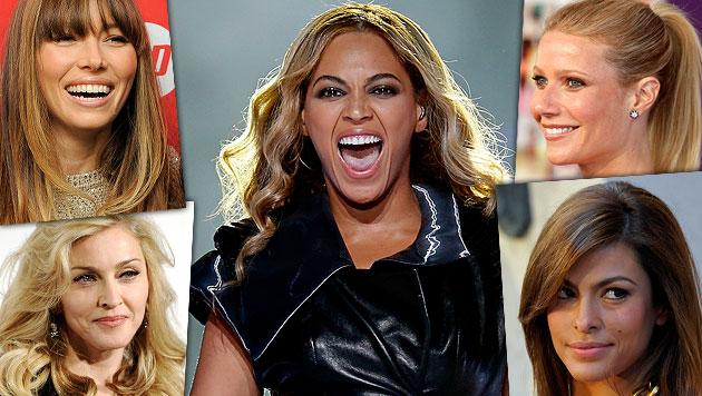 Was Madonna, Beyonce & Co. fürs Feiern absahnen (Bild: AFP, AP)