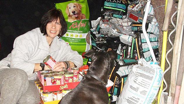 """Die """"Futterbox"""" versorgt Bedürftige mit Tierfutter (Bild: Futterbox Österreich)"""