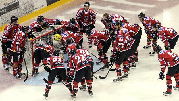 Eishockey-Team startet mit 3:2-Sieg in Olympia-Quali (Bild: APA/HERBERT PFARRHOFER)
