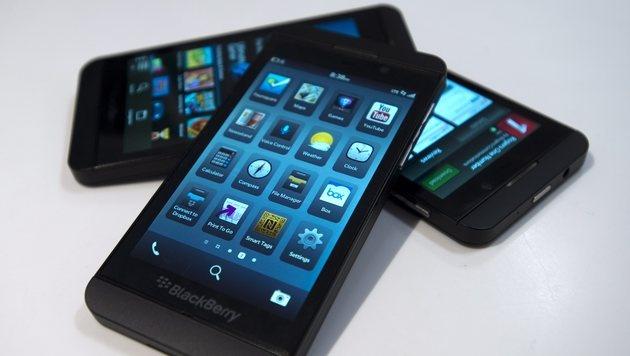 Blackberry freut sich über Riesenauftrag (Bild: AP)