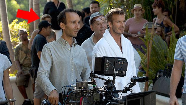 Dieser Knackpo soll gar nicht David Beckham gehören (Bild: H&M)