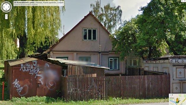 Street View soll Steuersünder in Litauen entlarven (Bild: Google)