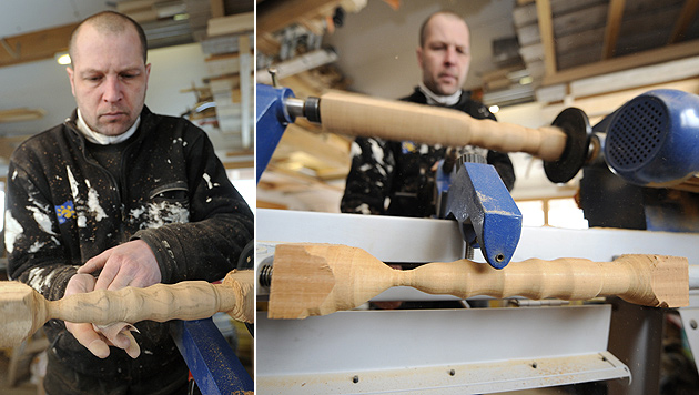 Franzose fertigt Sexspielzeug aus Tropenholz (Bild: AFP)