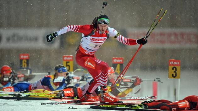 Svendsen gewinnt bei Biathlon-WM auch die Verfolgung (Bild: EPA)