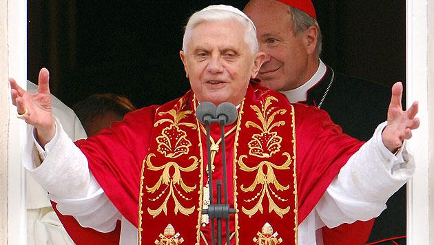 Papst Benedikts R�cktrittserkl�rung im Wortlaut (Bild: APA/BARBARA GINDL)