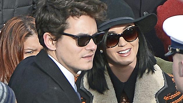 John Mayer denkt an Hochzeit mit Katy Perry (Bild: EPA)