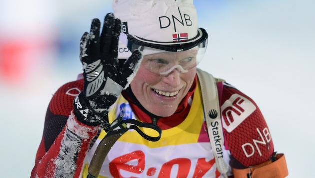 Berger gewinnt über 15 Kilometer, Schwabl wird 24. (Bild: AP)