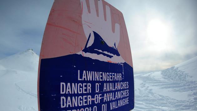 Lawine reißt Alpinist am Großen Pyhrgas in den Tod (Bild: APA/BARBARA GINDL)