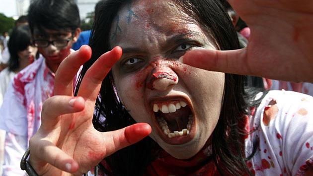 TV-Sender in den USA warnt vor Zombie-Apokalypse (Bild: AP (Symbolbild))