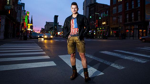 Andreas Gabalier nahm in Musik-City Nashville auf (Bild: Universal Music)