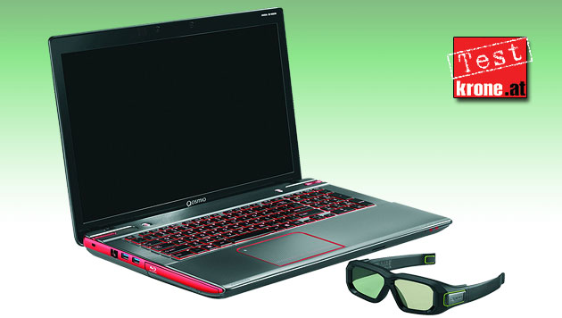 Toshibas Gaming-Laptop Qosmio X870-152 im Test (Bild: Toshiba, krone.at-Grafik)