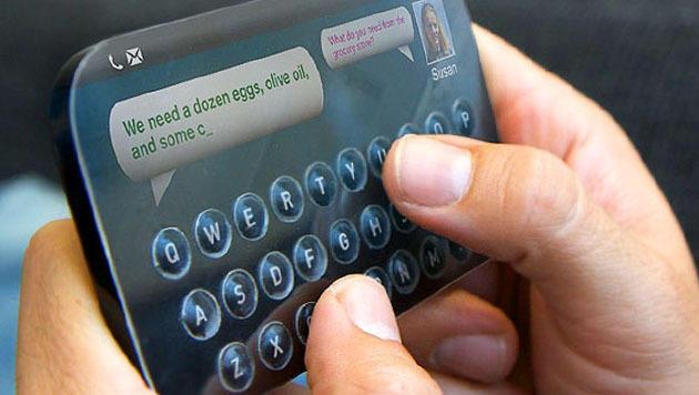 US-Firma macht Tasten auf Touchscreen fühlbar (Bild: Tactus Technology)