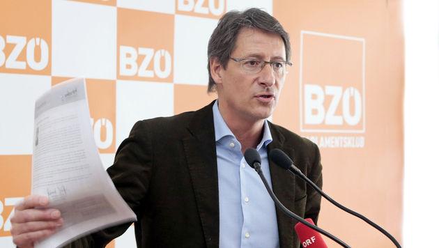 BZÖ verspricht jedem Haushalt 1.000 Euro im Jahr (Bild: APA/GERT EGGENBERGER)