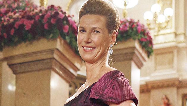 Desiree Treichl-Stürgkh wurde am Opernball bestohlen (Bild: APA/Georg Hochmuth)