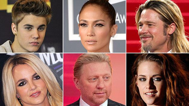 Diese Stars setzten ihren Partnern bereits H�rner auf (Bild: EPA)