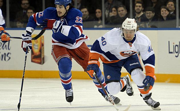 Grabner trifft bei 5:1-Heimsieg der New York Islanders (Bild: AP)