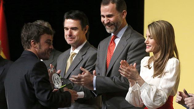 Prinzessin schockt Spanien: So dünn war Letizia noch nie (Bild: EPA)