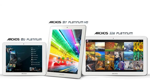 Quad-Core-Tablet von Archos mit Retina-Auflösung (Bild: Archos)