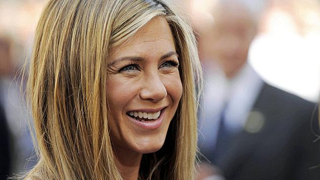 Jennifer Aniston schwärmt von Justin Theroux (Bild: AP)