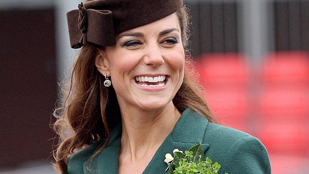 """Schwangere Kate ist stolz auf ihren """"dicken Hintern"""" (Bild: EPA)"""