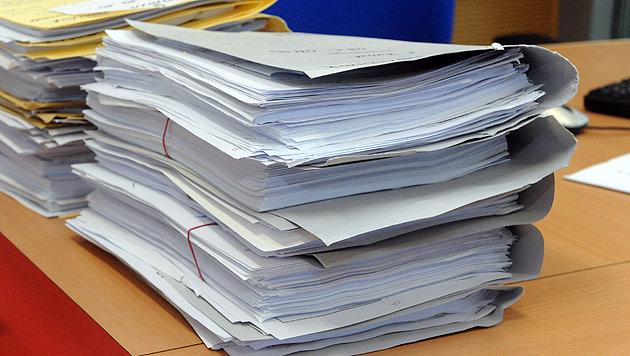 Aufregung um geschw�rzte Akten im U-Ausschuss (Bild: APA/Herbert Pfarrhofer)