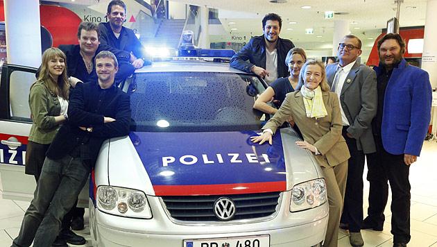 """""""CopStories"""" in Wiens kulturellem Schmelztiegel (Bild: APA/Georg Hochmuth)"""
