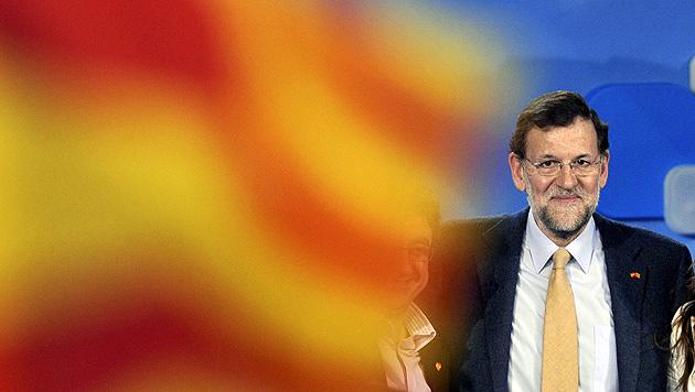 Euro-Krisenland Spanien versinkt in Skandalen (Bild: EPA)