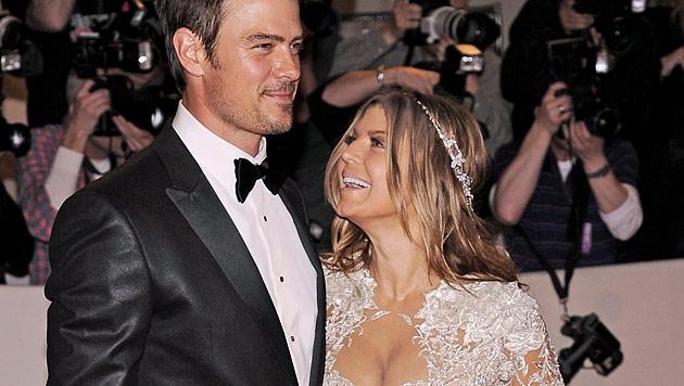 Fergie und Josh Duhamel erwarten einen Sohn (Bild: EPA)