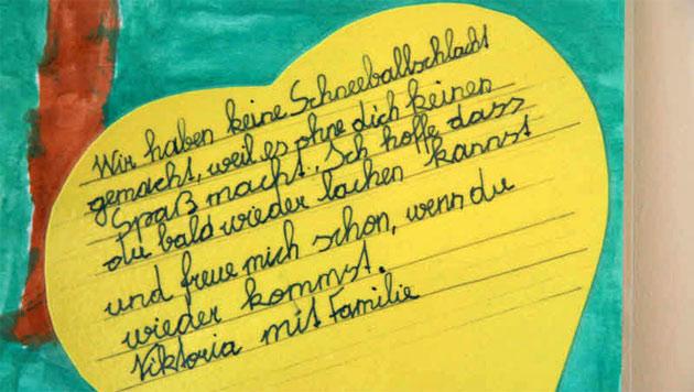 """Jan (9): """"Das Heimweh schmerzt am meisten"""" (Bild: Christoph Gantner)"""
