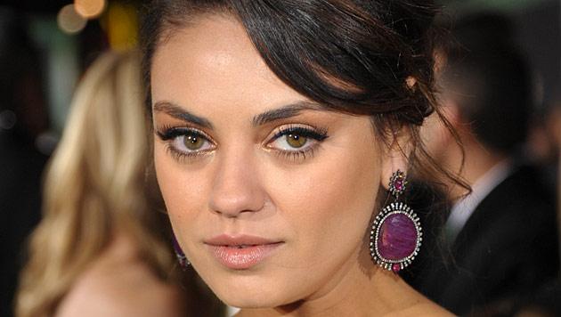 Mila Kunis will Schauspieljob an den Nagel hängen (Bild: AP)