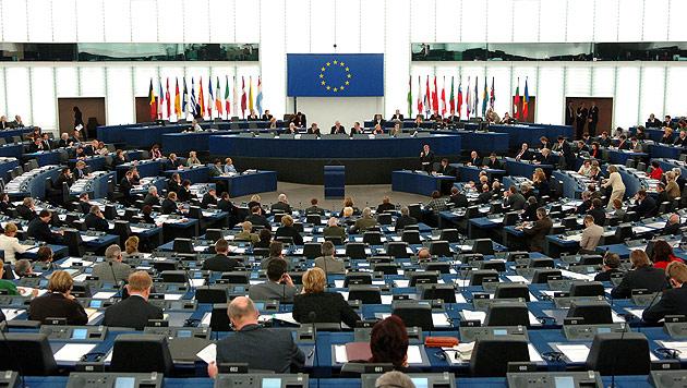 Das EU-Parlament in Straßburg (Bild: APA/Bernhard J. Holzner)