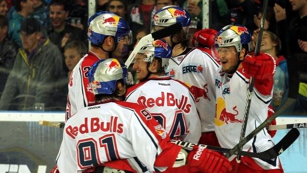 Salzburg gelingt vorzeitiger Einzug ins Play-off (Bild: APA/KRUGFOTO)