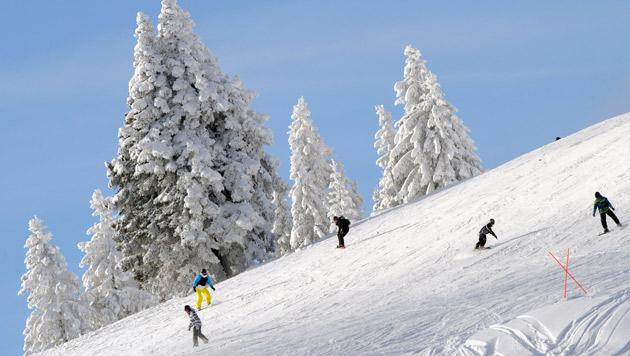 Skiunfall  artete in eine wilde Schlägerei aus (Bild: dpa/Patrick Seeger (Symboldbild))