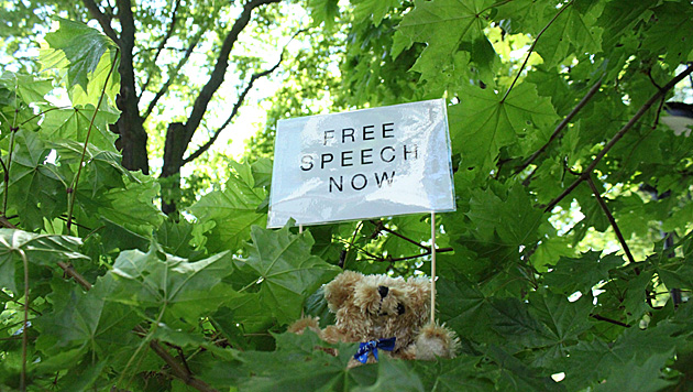 Teddys bescheren wei�russischem Soldaten Haft (Bild: EPA)