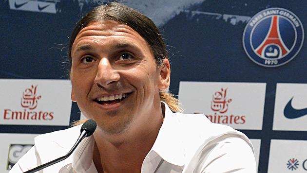 """Zlatan Ibrahimovic: """"Ich bin der Größte hinter Ali"""" (Bild: EPA)"""