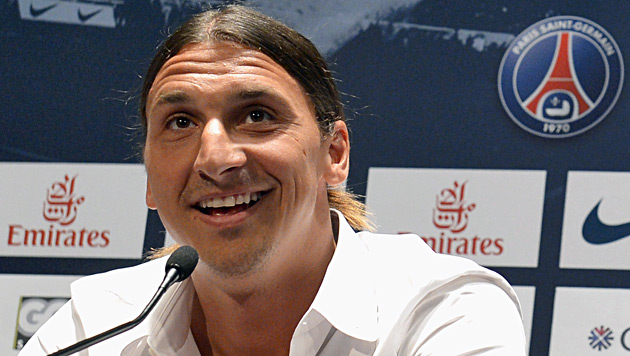 "Zlatan Ibrahimovic: ""Ich bin der Gr��te hinter Ali"" (Bild: EPA)"