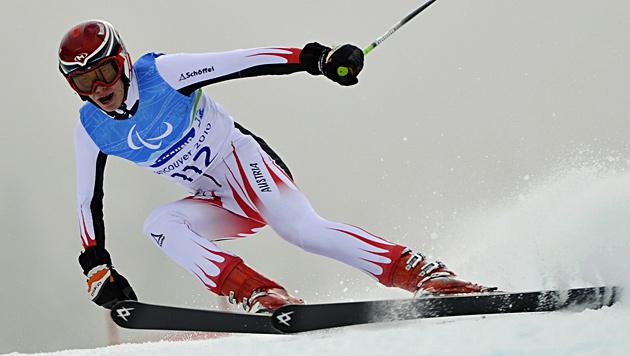 Goldmedaille für Salcher und Bronze für Lanzinger (Bild: EPA)