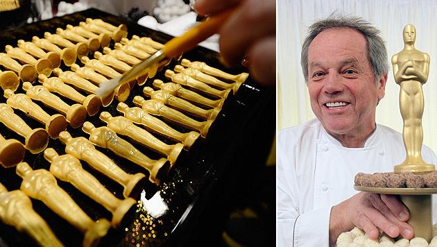 Austro-Küchenchef Wolfgang Puck bekocht die Stars (Bild: AFP, APA/GEORG HOCHMUTH)
