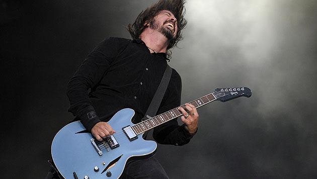 Foo Fighters basteln bereits an einem neuen Album (Bild: AFP)