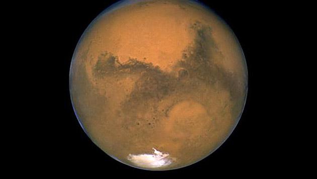 Indiens Regierung plant unbemannten Flug zum Mars (Bild: NASA/ESA)